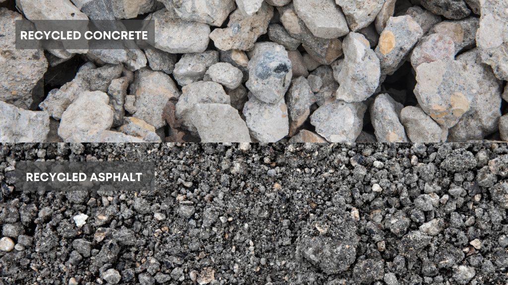 Recycled Concrete and Asphalt